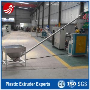 Ligne de bouletage extrusion de plastique des déchets