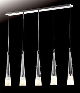 Moderne einfache Art- Home Use Glaspendelleuchte ( P2268 / 5 )