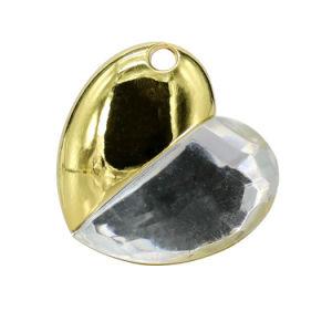 Bastone portatile dell'istantaneo dell'azionamento del USB del migliore di cerimonia nuziale dei regali cuore dei monili