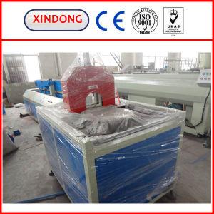 PVC管の打抜き機