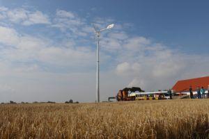 Sistema de freno manual de 2 kw de energía eólica generador para el reempleo