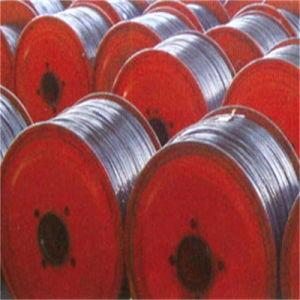 Cabo de comunicação como o fio de aço revestido de alumínio para o fio terra de Fibra Óptica