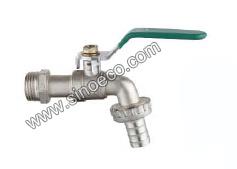 Steel Handleの栓Basin Zinc Bibcock