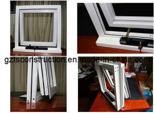 Doppio Glazing Aluminium Windows, Awning Window con AS/NZS2208