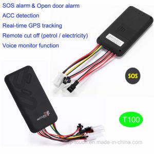 Motociclo/veículo GPS Tracker com Alarme Sos T100