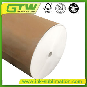 57GSM industrial de papel por sublimação de tinta de secagem rápida para a impressão de têxteis