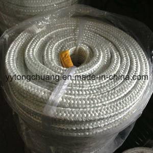 Tipo a temperatura elevata corda quadrata Braided dell'isolante dell'imballaggio della vetroresina