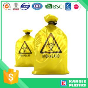 Bolsa de plástico biológico de residuos médicos del Hospital