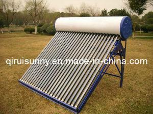 太陽エネルギー温水器