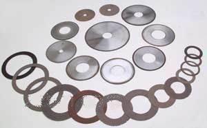Abrasivos Precison ultra delgado de la rueda de corte de diamante la hoja del disco