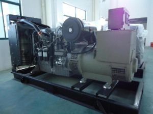 350kVA de generación diesel Powered by motor Perkins (2206A-E13TAG2)