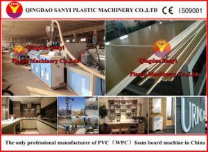 Machines en bois d'extrusion de panneau de mousse en plastique (SJSZ80/156)
