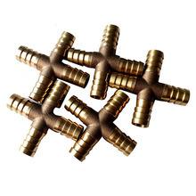 4つの方法PVC管のための真鍮の十字付属品のPexの配管の管付属品