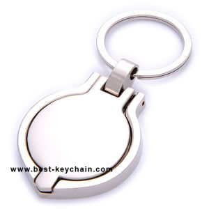 Moldura Fotográfica da Inglaterra para a loja de presentes/Promoção Foto Keyring Chaveiro de liga de zinco (BK11274)