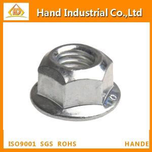 La rondelle de l'écrou autobloquant All-Metal DIN 6923