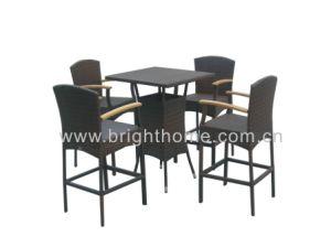棒Set - Outdoor Bar ChairおよびTable (BT-N21)
