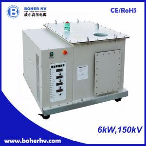 Soldador de electrones de alta tensión de alimentación de 6 kW de potencia de 150kV EB-380-6kW-150kV-F30A-B2kV