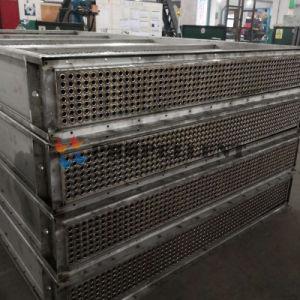 Le tube en cuivre et aluminium chauffage tube fin de l'air échangeur de chaleur