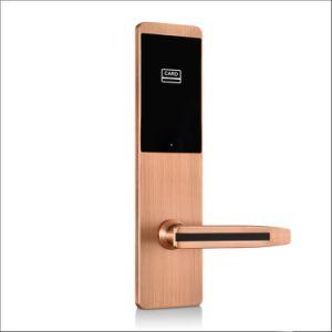 Digital-Sicherheits-Keyless Hotel Roomdoor Verschluss mit mechanischer Key+ Karte (KB825)