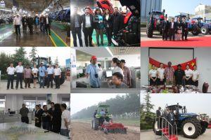De Tractor van het Landbouwbedrijf van Lovol van Foton 4WD, 80HP met Ce en OESO