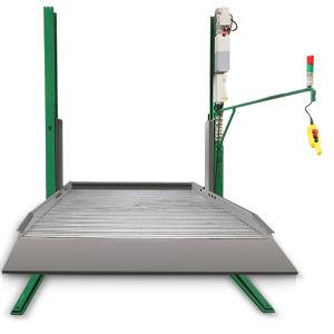 Высота подъема 2100 мм 2,7 тонны две должности 2 уровня подъема парковка в гараже автомобиля