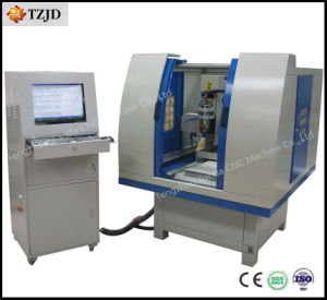 Molde CNC Máquina de gravura de roteador para a Chapa de Aço