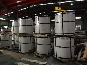Toit PPGL Panneau en acier galvanisé prélaqué bobine en acier recouvert de couleur
