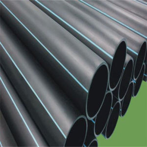 SDR17 Buis HDPE (Poli pijp) en Zwart / Blauw Kleur Voor tubo Watervoorziening
