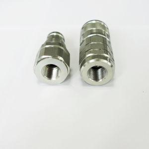 Il montaggio di tubo flessibile dell'accoppiatore di caduta del numero del pezzo dell'escavatore del caricatore rapidamente disconnette l'accoppiamento