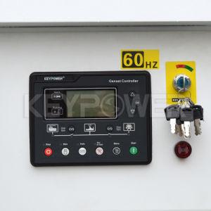 Бесшумный типа 140ква дизельные генераторные установки с помощью панели управления 6120
