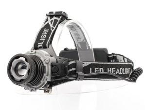 LEDの強く軽い充満誘導ヘッドランプ