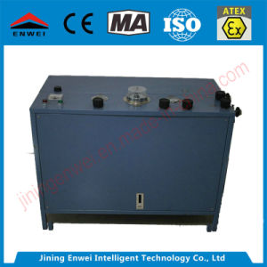 Bomba de Enchimento de oxigênio para equipamento de respiração de mineração de carvão
