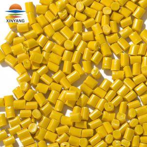 Желтый Masterbatch для экструзии системы впрыска