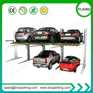 2ポストは証明されたセリウムが付いている屋外車の駐車上昇を合接した
