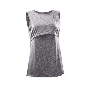 주문 소매 없는 면에 의하여 주문을 받아서 만들어지는 모유로 기르는 t-셔츠
