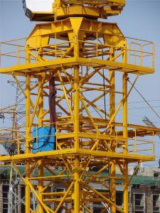 Certificado CE 4t grúa torre de la empresa de suministro de fábrica