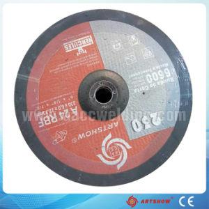 Il disco per il taglio di metalli abrasivo ha tagliato i dischi della falda della rotella, disco di molatura
