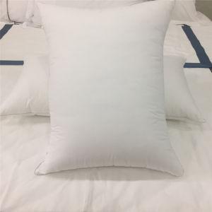 Отель 75% утка вниз подушку в 100% хлопчатобумажной ткани