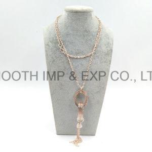 Las cadenas de multi-capa personalizada fábrica bonita mujer joyas Collar Gargantilla