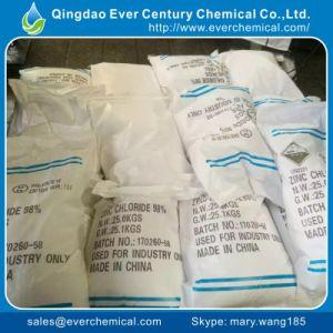 Het Chloride van het Zink van de galvanisatie 98% Chloride Van uitstekende kwaliteit van het Zink van de Galvanisatie
