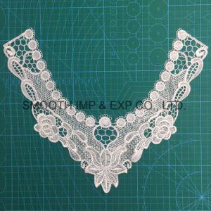 Tessuto di cotone accessorio dell'indumento della nappa del collare del merletto della guarnizione del ricamo del Crochet