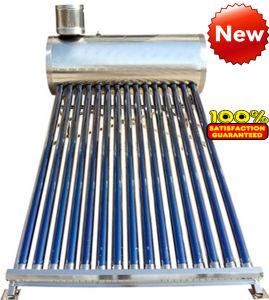 acier inoxydable compact d'eau chaude solaire chauffe-eau de réservoir de stockage