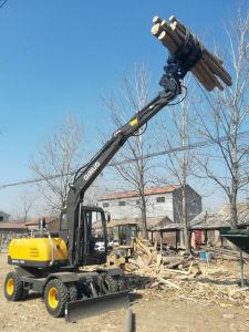 Escavatore cinese della gomma di buona qualità con la rottura del martello da vendere