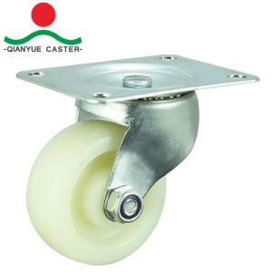 까만 고무는 가구를 위한 회전대 피마자 바퀴를 제동했다