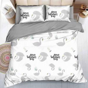 Gebildet in China-Lieferant gedruckten Polyester-Schlafzimmer-SetBedsheets
