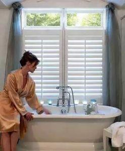 Sun-justierbare Luftschlitz-Blendenverschluss-Badezimmer-Fenster-Plantage-Blendenverschlüsse von China