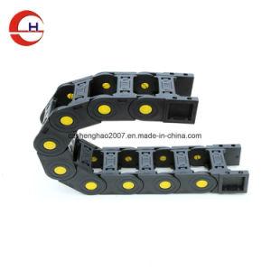 Cable de plástico Industrial reforzado CNC portador de la cadena de arrastre de cable