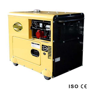 AC Diesel van de Enige Fase Stille Generator