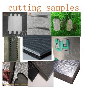 Zhuoxing CNC máquina de corte da faca oscilante em relva artificial máquina de corte CNC Faca piso de carpete tapete cobrindo máquina de corte automático