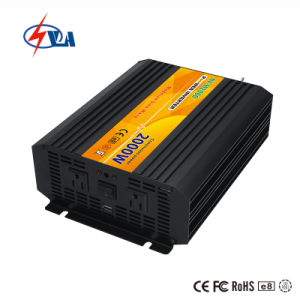 12 voltios DC 120 Voltios AC PV Inversor de potencia de 2000W